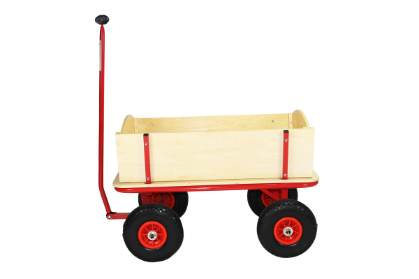 Beachtrekker Style Holzbollerwagen, Handwagen, Leiterwagen
